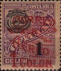 "[Airmail - Surcharged ""CORREO 1930 AEREO"", with Bleriot XI Airplane and New Value, type DL3]"