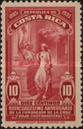 [The 50th Anniversary of Costa Rican Red Cross, type DS]