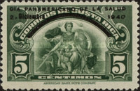 [Pan-American Health Day - Not Issued Stamps Overprinted