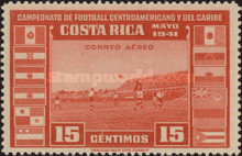 [Airmail - Central American and Caribbean Football Championship, type EP]