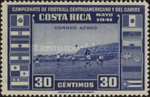 [Airmail - Central American and Caribbean Football Championship, type EP1]
