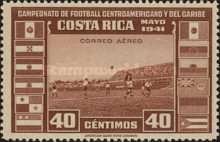 [Airmail - Central American and Caribbean Football Championship, type EP2]