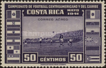 [Airmail - Central American and Caribbean Football Championship, type EP3]