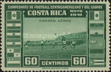 [Airmail - Central American and Caribbean Football Championship, type EP4]
