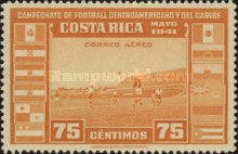 [Airmail - Central American and Caribbean Football Championship, type EP5]