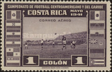 [Airmail - Central American and Caribbean Football Championship, type EP6]