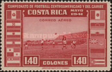 [Airmail - Central American and Caribbean Football Championship, type EP7]