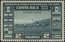 [Airmail - Central American and Caribbean Football Championship, type EP8]