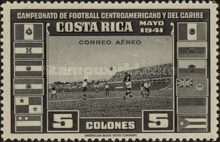 [Airmail - Central American and Caribbean Football Championship, type EP9]