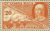 [Airmail - The 500th Anniversary of Isabella the Catholic, type HE1]