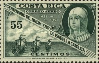 [Airmail - The 500th Anniversary of Isabella the Catholic, type HE3]