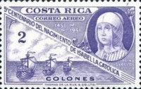 [Airmail - The 500th Anniversary of Isabella the Catholic, type HE4]
