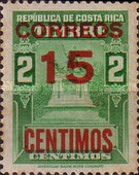 [Fiscal Stamps Overprinted for Postal Use, type IG1]