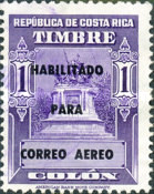 [Airmail - Fiscal Stamps (but without Surcharge) Overprinted HABILITADO PARA CORREO AEREO, type IG10]