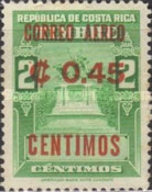[Airmail - Fiscal Stamps Overprinted CORREO AEREO and Surcharged with New Value for Postal Use, type IG4]