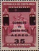 [Airmail - Revenue Stamps Surcharged
