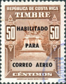 [Airmail - Fiscal Stamps (but without Surcharge) Overprinted HABILITADO PARA CORREO AEREO, type IG9]