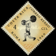 [Airmail - Olympic Games - Rome, Italy, type KD]