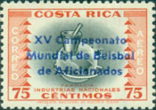 [Airmail - Issue of 1954 Overprinted