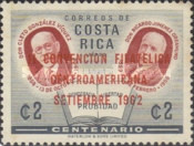 [Airmail - The 2nd Central American Philatelic Convention - Overprinted
