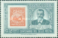 [Airmail - The 100th Anniversary of Costa Rican Stamps, type LS]