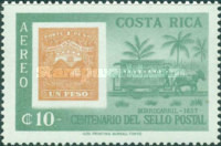 [Airmail - The 100th Anniversary of Costa Rican Stamps, type LU]