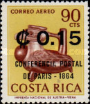 [Paris Postal Conference. Issue of 1963 Surcharged