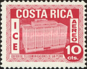 [Airmail - Costa Rican Electrical Industry, type OD]