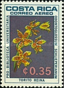 [Airmail - University Library - Orchids, type OM]
