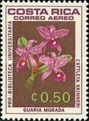 [Airmail - University Library - Orchids, type ON]