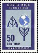 [Airmail - The 25th Anniversary of Inter-American Institute of Agricultural Science, type OQ]