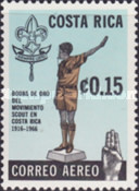 [Airmail - The 50th Anniversary (1966) of Scout Movement in Costa Rica, type PO]