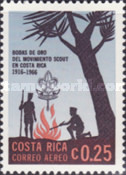 [Airmail - The 50th Anniversary (1966) of Scout Movement in Costa Rica, type PP]