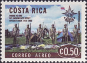 [Airmail - The 50th Anniversary (1966) of Scout Movement in Costa Rica, type PR]