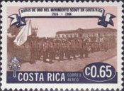 [Airmail - The 50th Anniversary (1966) of Scout Movement in Costa Rica, type PS]