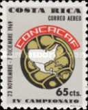 [Airmail - The 4th CONCACAF Football Championships, type QK]