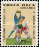 [Airmail - The 4th CONCACAF Football Championships, type QL]