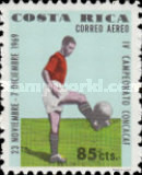 [Airmail - The 4th CONCACAF Football Championships, type QM]