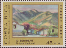 [Airmail - Costa Rican Paintings, type RA]