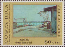 [Airmail - Costa Rican Paintings, type RB]
