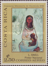 [Airmail - Costa Rican Paintings, type RD]