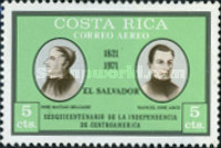 [Airmail - The 150th Anniversary of Central American Independence, type RN]