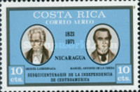 [Airmail - The 150th Anniversary of Central American Independence, type RO]