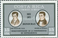[Airmail - The 150th Anniversary of Central American Independence, type RP]