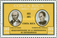 [Airmail - The 150th Anniversary of Central American Independence, type RQ]