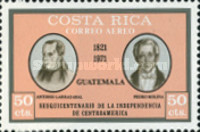 [Airmail - The 150th Anniversary of Central American Independence, type RR]