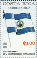 [Airmail - The 150th Anniversary of Central American Independence, type RS]