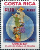 [Airmail - The 25th Anniversary of UNICEF, type RV1]