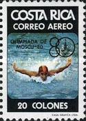 [Airmail - Olympic Games - Moscow, USSR, type ZV]