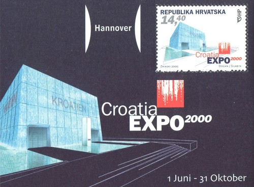 """[World Stamp Exhibition """"EXPO 2000"""" - Hannover, Germany, type ]"""